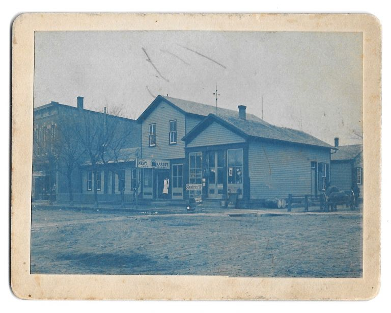 JOE TAYLOR MEAT MARKET AND HOME 1889 1895, Versailles, Ohio.