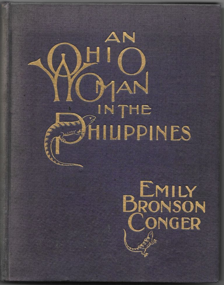AN OHIO WOMAN IN THE PHILIPPINES. Mrs. Emily Bronson Conger.