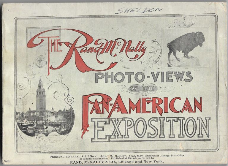 THE RAND-MCNALLY PHOTO-VIEWS OF THE PAN-AMERICAN EXPOSITION.