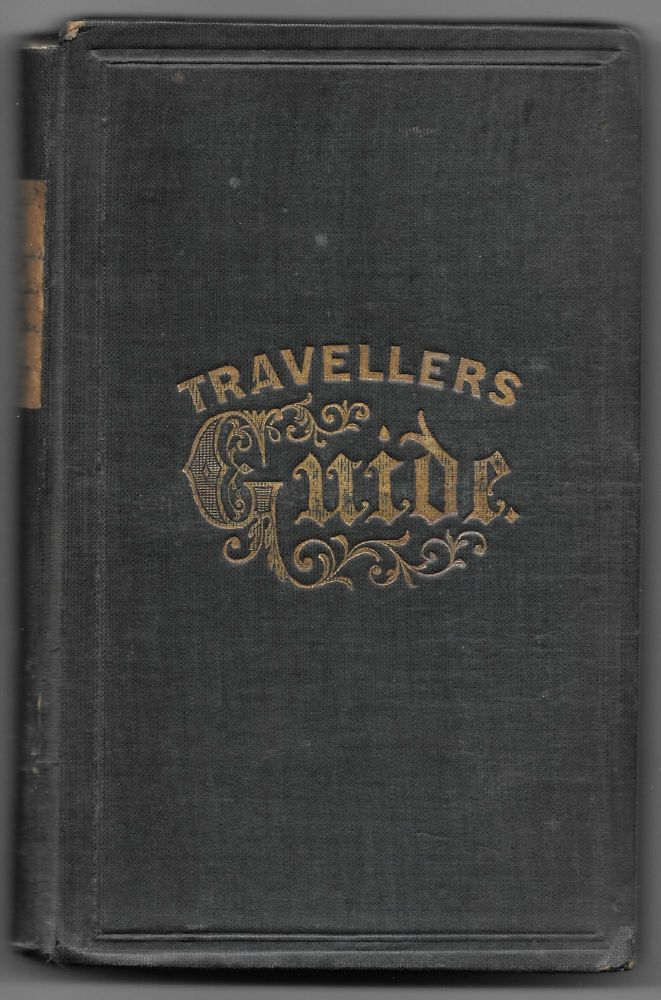 TRAVELER'S GUIDE TO THE HUDSON RIVER, SARATOGA SPRINGS, LAKE GEORGE. J. Disturnell, comp.