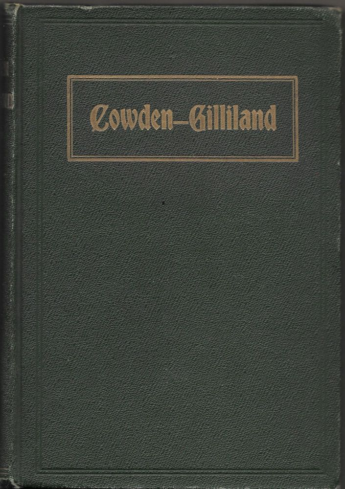 ILLUSTRATED HISTORICAL AND BIOGRAPHICAL SKETCH OF THE DESCENDANTS OF. Robert Cowden.