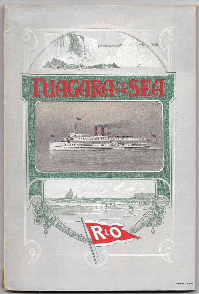 FROM NIAGARA TO THE SEA, OFFICIAL GUIDE 1905.