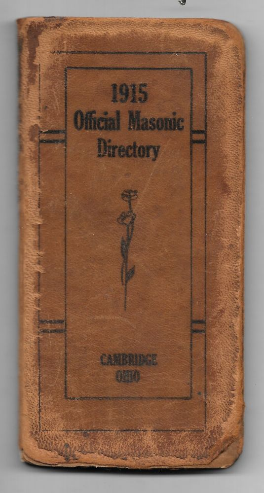 1915 OFFICIAL MASONIC DIRECTORY.