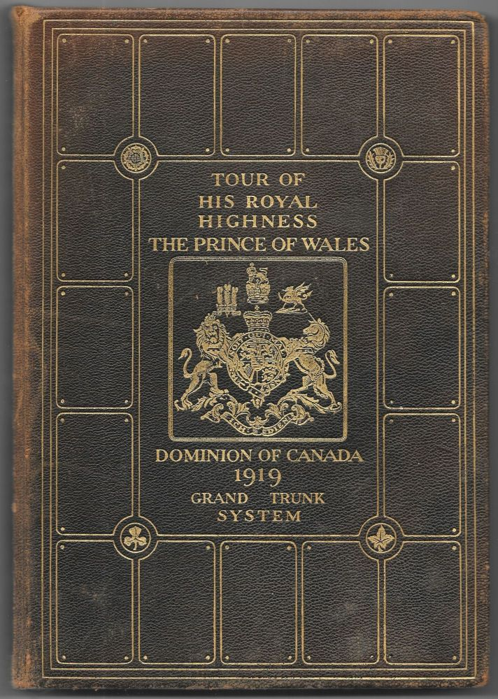 ANNOTATED TIME TABLE. THE TOUR THROUGH CANADA OF HIS ROYAL HIGHNESS, THE PRINCE OF WALES, , AUGUST - OCTOBER: 1919.