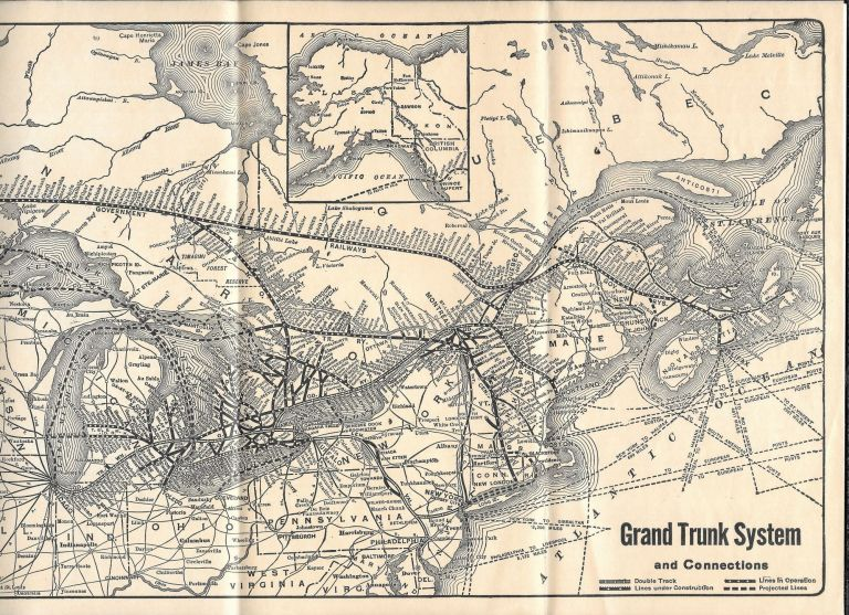 GRAND TRUNK SYSTEM AND CONNECTIONS.