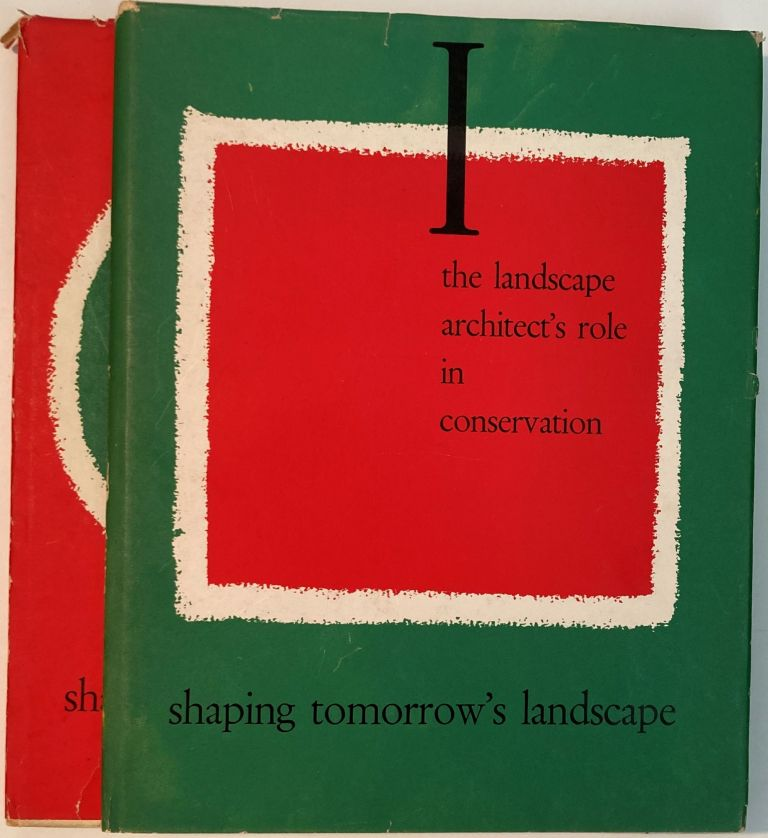 SHAPING TOMORROW'S LANDSCAPE, Sylvia Crowe, Zvi Miller.
