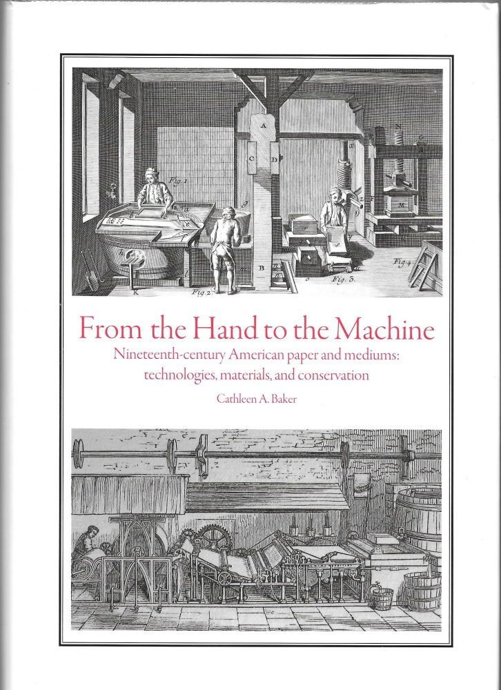 FROM THE HAND TO THE MACHINE, Cathleen A. Baker.