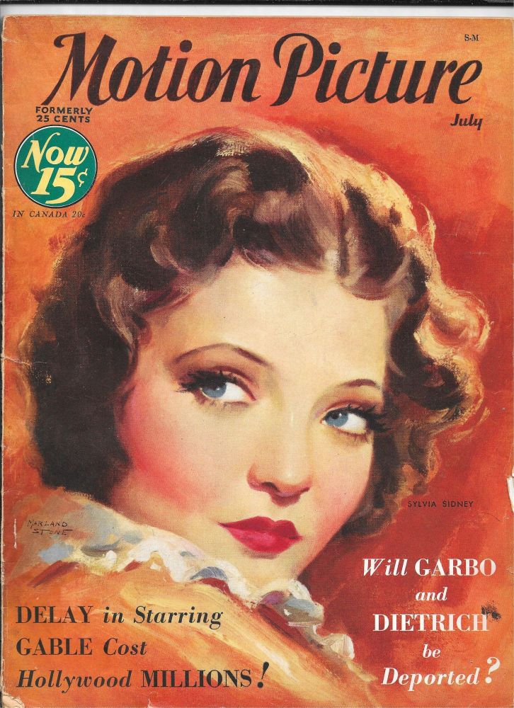 MOTION PICTURE. July, 1932. Volume XLIII, No. 6.