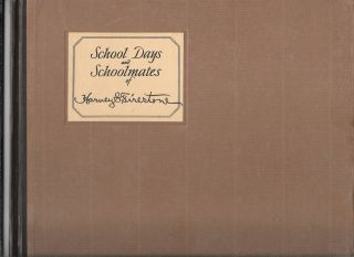 SCHOOL DAYS AND SCHOOLMATES OF HARVEY S. FIRESTONE. James C. Young
