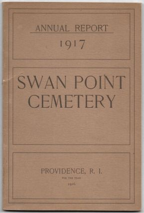 ANNUAL REPORT OF THE DIRECTORS OF SWAN POINT CEMETERY MADE TO THE