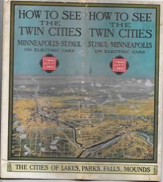 HOW TO SEE THE TWIN CITIES, St. Paul-Minneapolis on Electric Cars