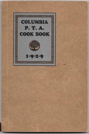 COLUMBIA P.T.A. COOK BOOK
