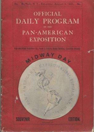 OFFICIAL DAILY PROGRAM OF THE PAN-AMERICAN EXPOSITION. (For August 3