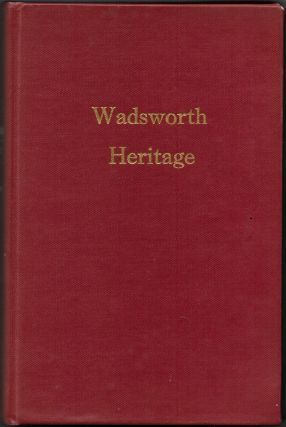WADSWORTH HERITAGE. Eleanor Iler Schapiro