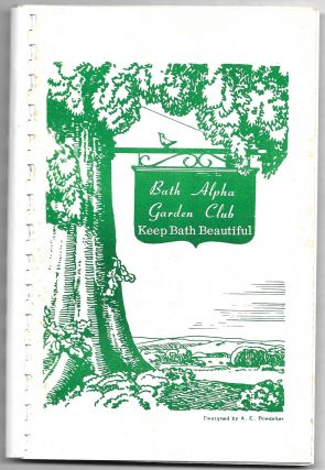 FAVORITE RECIPES OF BATH ALPHA GARDEN CLUB, 1928-1975