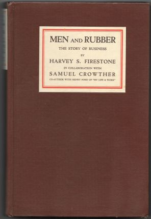 MEN AND RUBBER, The Story of Business.