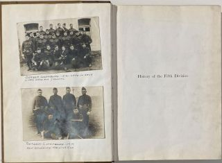 OFFICIAL HISTORY OF THE FIFTH DIVISION, U.S.A., 1917 - 1919.