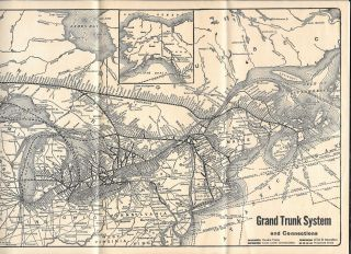 GRAND TRUNK SYSTEM AND CONNECTIONS