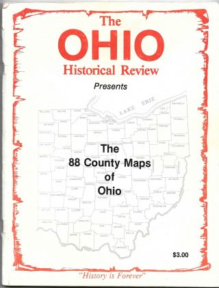 THE 88 COUNTY MAPS OF OHIO